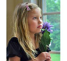 Window Portrait Photographic Print