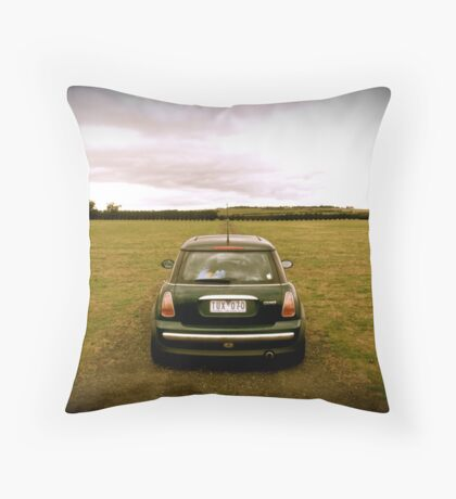 TUX at Matilda Throw Pillow