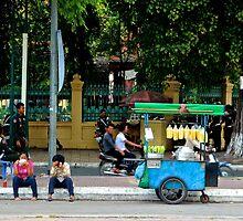 Streets of the Capital - Phnom Penh, Cambodia.  by Tiffany Lenoir