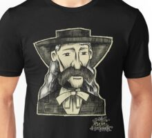 Wild Bill Hickock. Unisex T-Shirt