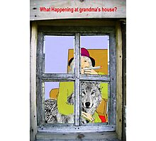 Grandmas House Photographic Print