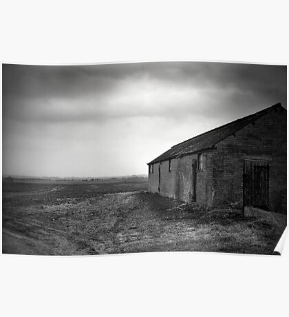 Stormy Fens Poster