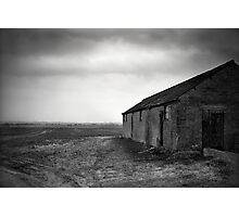 Stormy Fens Photographic Print