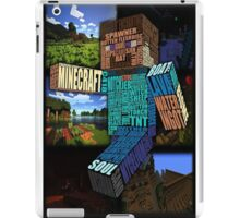 Minecraft iPad Case/Skin