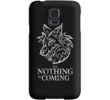 The Nothing (white) Samsung Galaxy Case/Skin