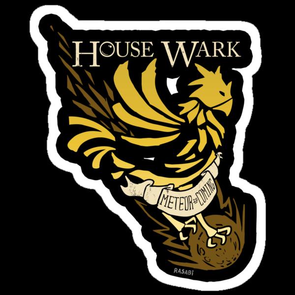 House Wark (Sticker) by rasabi