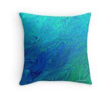 sdd Blue Calm 2B Throw Pillow