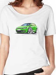 VW Scirocco (Mk3) Green Women's Relaxed Fit T-Shirt