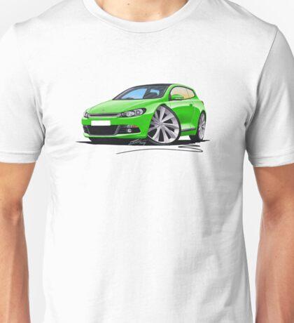 VW Scirocco (Mk3) Green Unisex T-Shirt