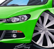 VW Scirocco (Mk3) Green Sticker