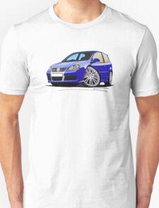 VW Golf R32 (Mk5) Blue T-Shirt
