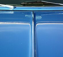 Car reflection 16 by Karl Rose