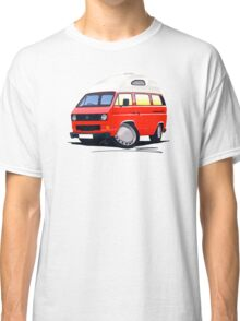 VW T25 / T3 (High Top) Red Classic T-Shirt