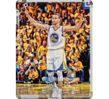 Stephen Curry Poster iPad Case/Skin