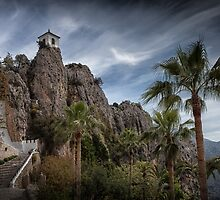 Guadalest Spain Costa Blanca by Leighton Collins