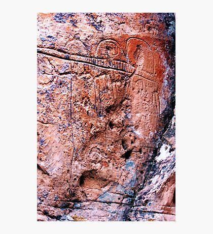 Nevada Petroglyphs Photographic Print