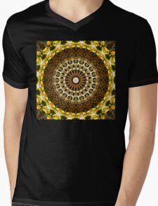 Flower Kaleidoscope I Mens V-Neck T-Shirt