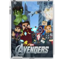 Minecraft The Avengers iPad Case/Skin