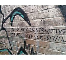 It's not self destructive - The Libertines Photographic Print
