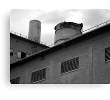 Cement Factory Canvas Print