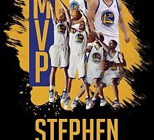 Stephen Curry - 2015 MVP 2 by reypuzon