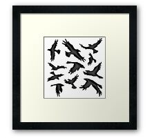 The Crows Framed Print
