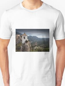 Guadalest bell tower Spain T-Shirt