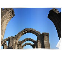 Silent and Graceful Arches Poster