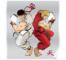 Ryu and Ken Poster