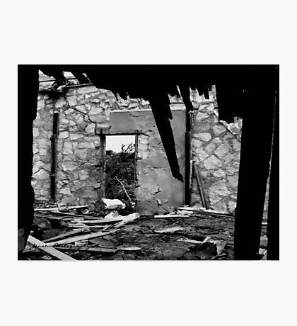 Collapsed Photographic Print