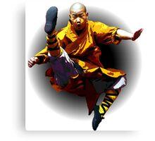 Shaolin Monk -Waaaaaaaaaaaaaah ! Canvas Print