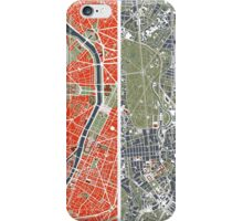 Six Cities map iPhone Case/Skin
