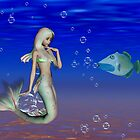I`m forever blowing bubbles .. a mermaid tale by LoneAngel