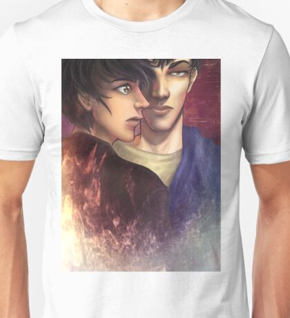 Fracture The Spider's Web (Jason & Ares Poster) Unisex T-Shirt