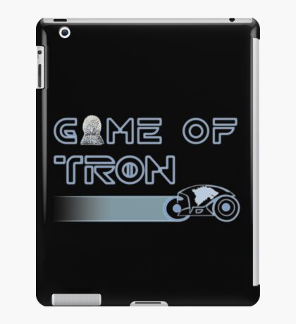 """Game of """"Tron"""" iPad Case/Skin"""