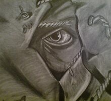 jeepers creepers pencil drawing by mazmedia