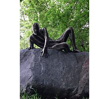 Sssssnakeman on Rock 2 Photographic Print
