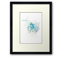 I like it here Framed Print