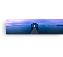 Crawley Boat Shed Canvas Print