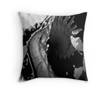 Bitter Release Throw Pillow