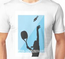 Tennis - A Gentleman's Game by Jeppe K Ringsted Unisex T-Shirt