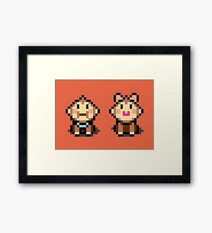 Salsa and Samba - Mother 3 Framed Print
