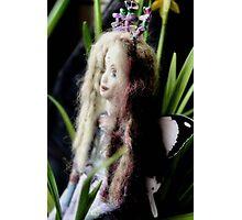 Trisha - a fairy doll´s world Photographic Print