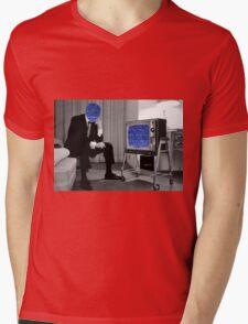 Signal Lost Mens V-Neck T-Shirt