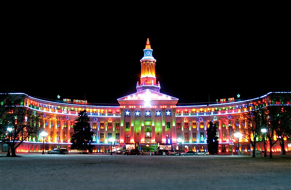 Christmas County Building 1 by greg1701