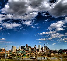 Denver Skyline 1 by greg1701