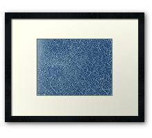 It's a Blue Kind of Day Framed Print