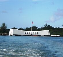 USS Arizona Memorial by Tammy Houston