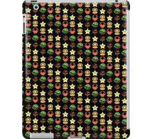 Coloured mario items  iPad Case/Skin