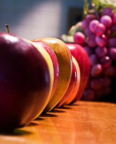 Apples and Grapes by Trudy Wilkerson